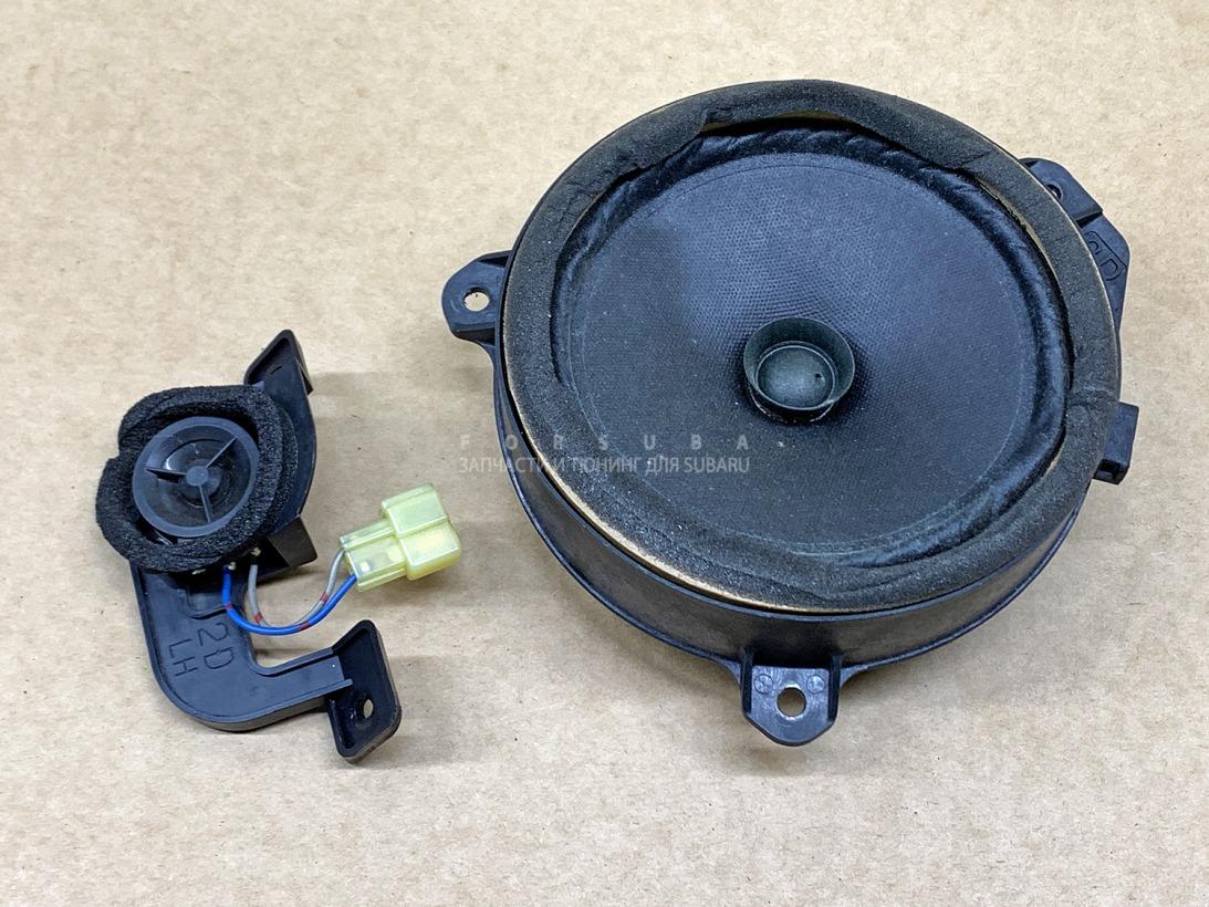 Динамик Subaru Legacy BLE BPE BL5 BP5 BP9 BL9 EJ203 EJ204 EJ20X EJ20Y EZ30 EJ253 2008 передний левый