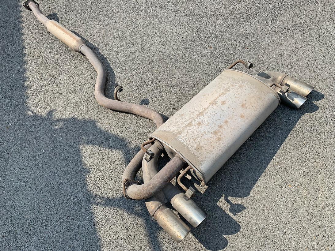 Глушитель Subaru Impreza Wrx Sti GRB GRF GRV GVF GVB GH GE EJ207HG1LE 2008
