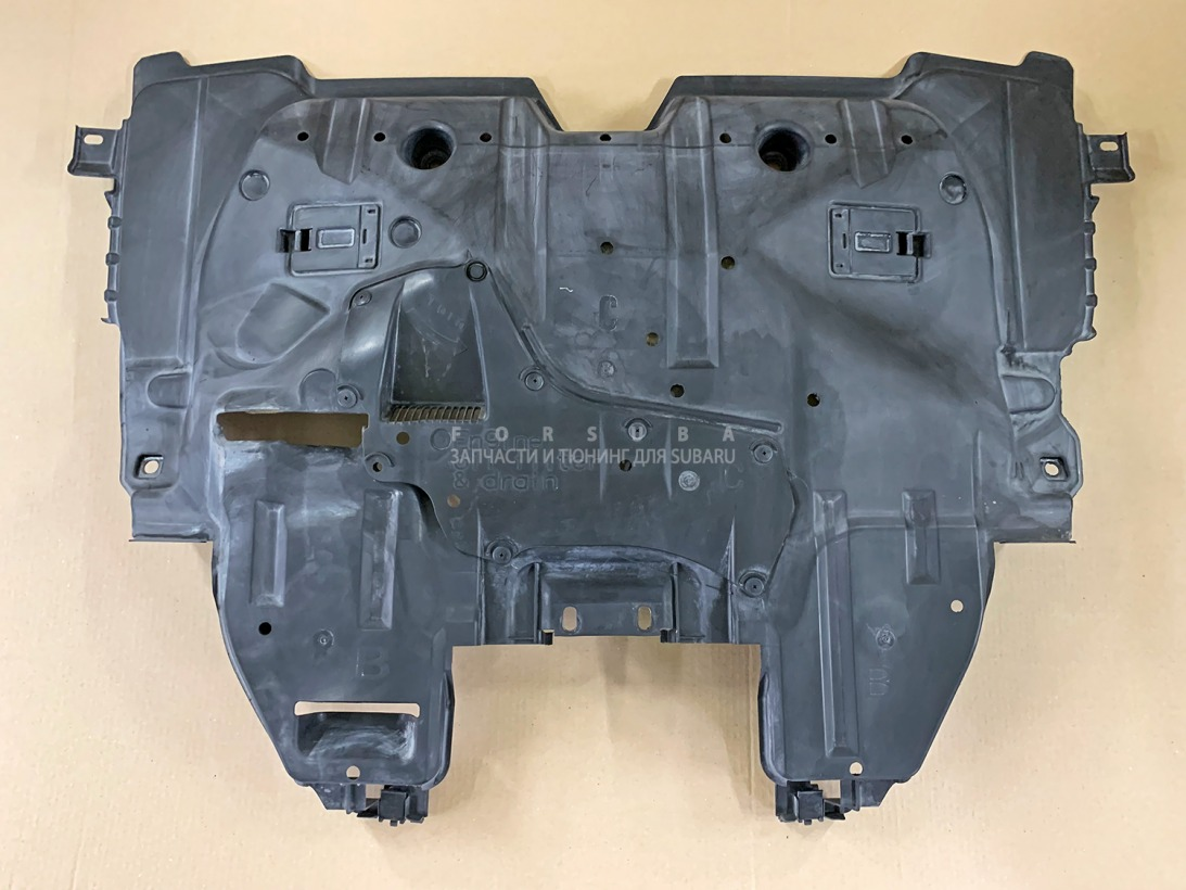 Защита двигателя Subaru Forester SG9 EJ205DPQME 2006