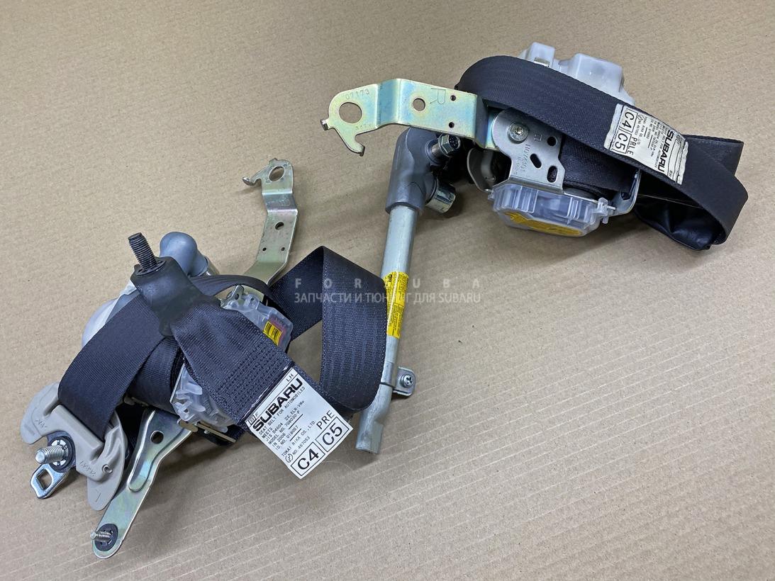 Ремень безопасности Subaru Legacy Wagon BP5 BPE BP9 BL5 BL9 BLE EJ20XHKDME 2006 передний