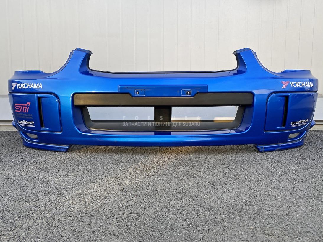 Бампер Subaru Impreza Wrx Sti GDB GDA EJ207DW7CR 2004 передний
