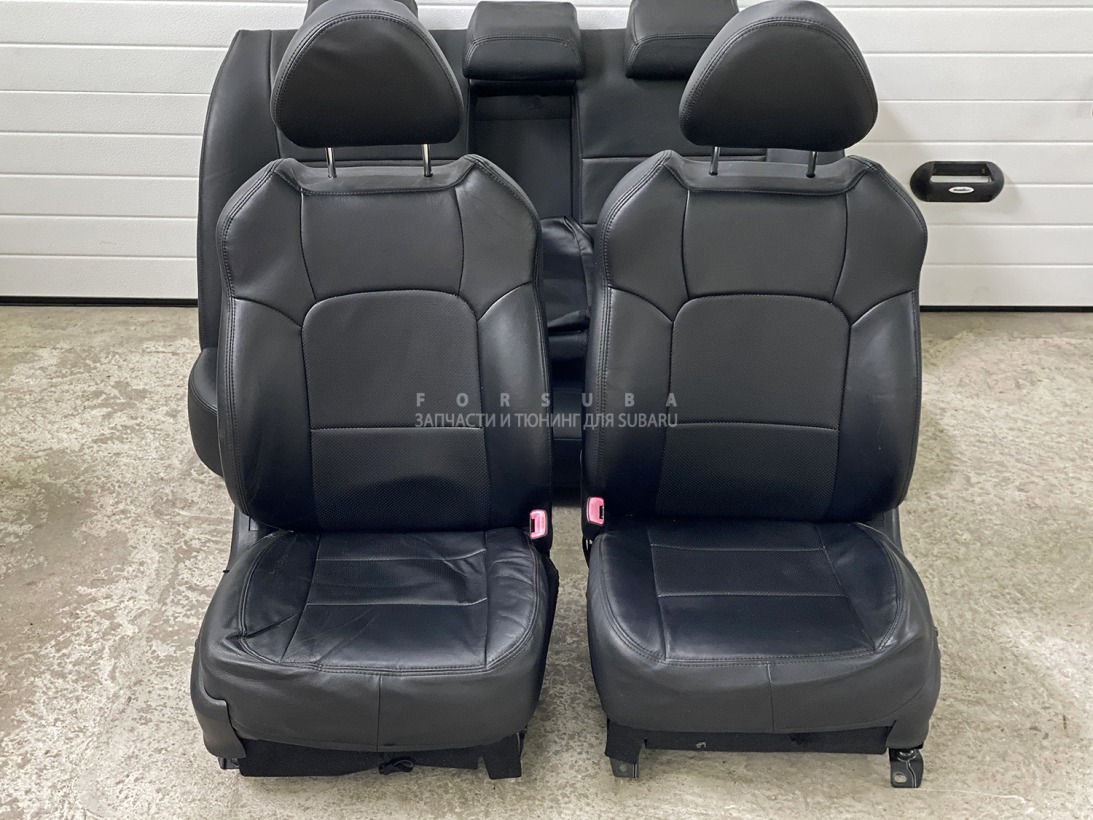 Чехлы сидений Subaru Legacy BL5 BLE BL9 EJ20XHBEME 2007