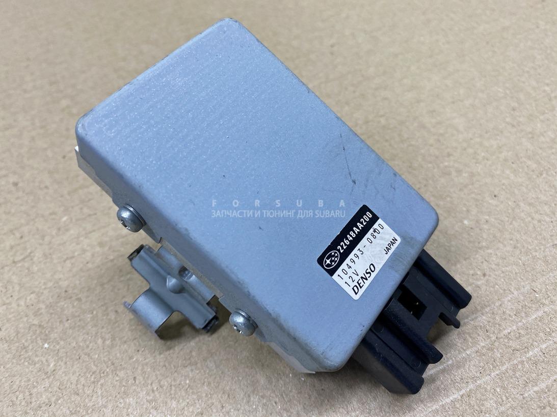 Блок управления бензонасосом Subaru Forester SJG SJ5 FA20ESZHZA 2012