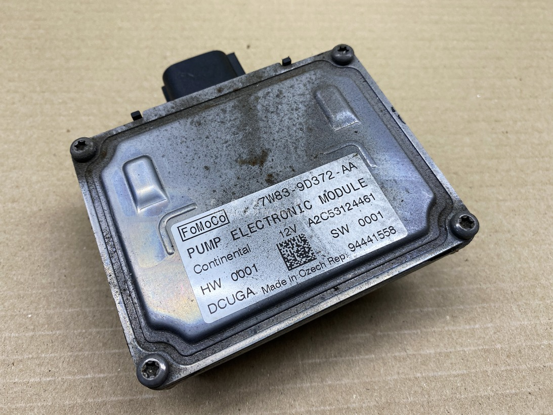 Блок управления бензонасосом Jaguar Xj X351 508PN 2010