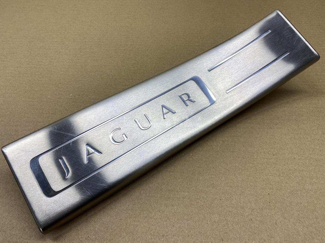 Накладка на порог салона Jaguar Xj X351 508PN 2010 задняя левая
