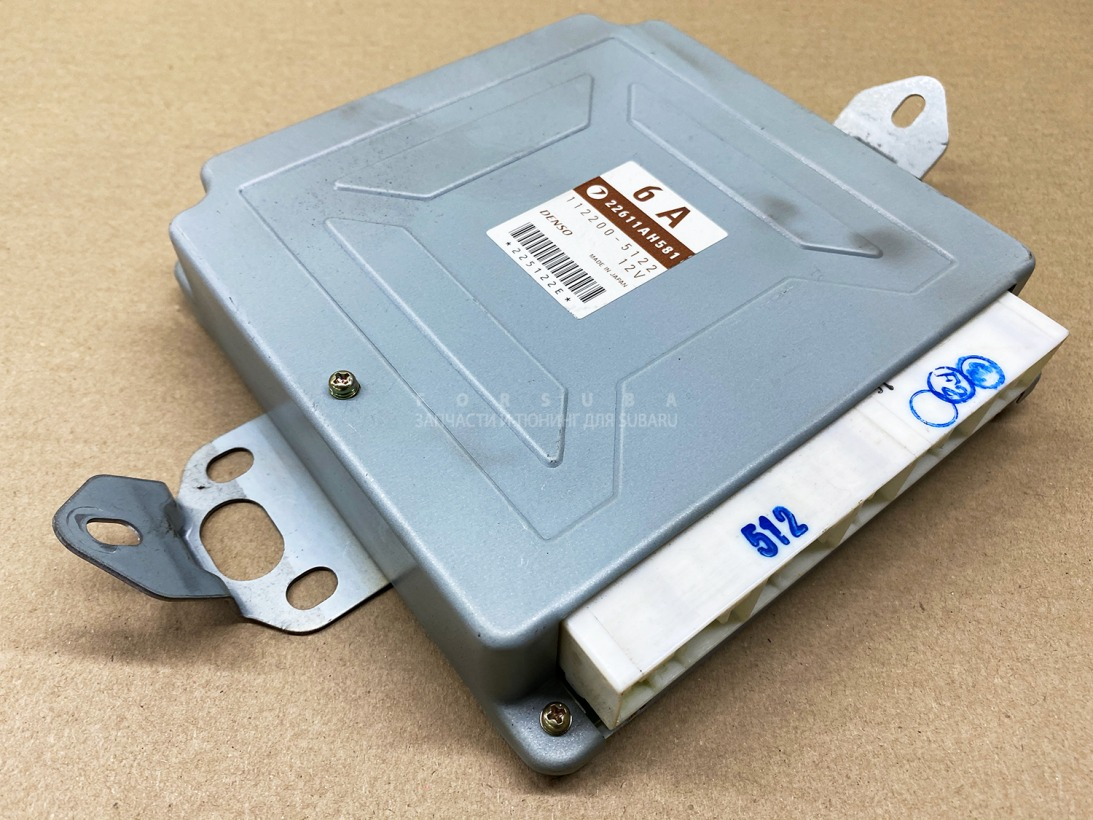 Блок управления efi Subaru Impreza Wrx Sti GDB EJ207DW5CR 2003