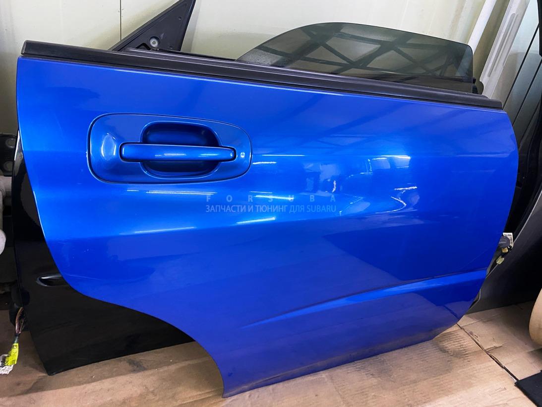 Дверь Subaru Impreza Wrx Sti GDB EJ207DW5CR 2003 задняя правая