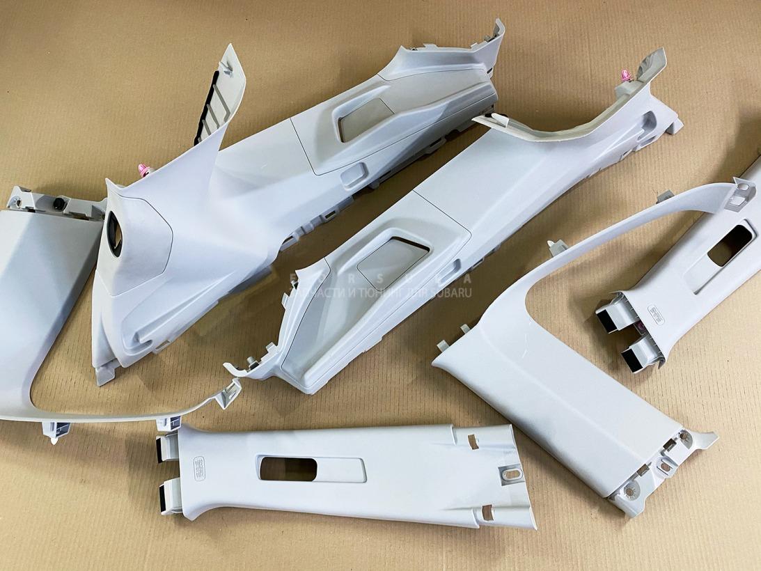 Пластик салона Subaru Forester SJG FA20ESZHZA 2013 задний