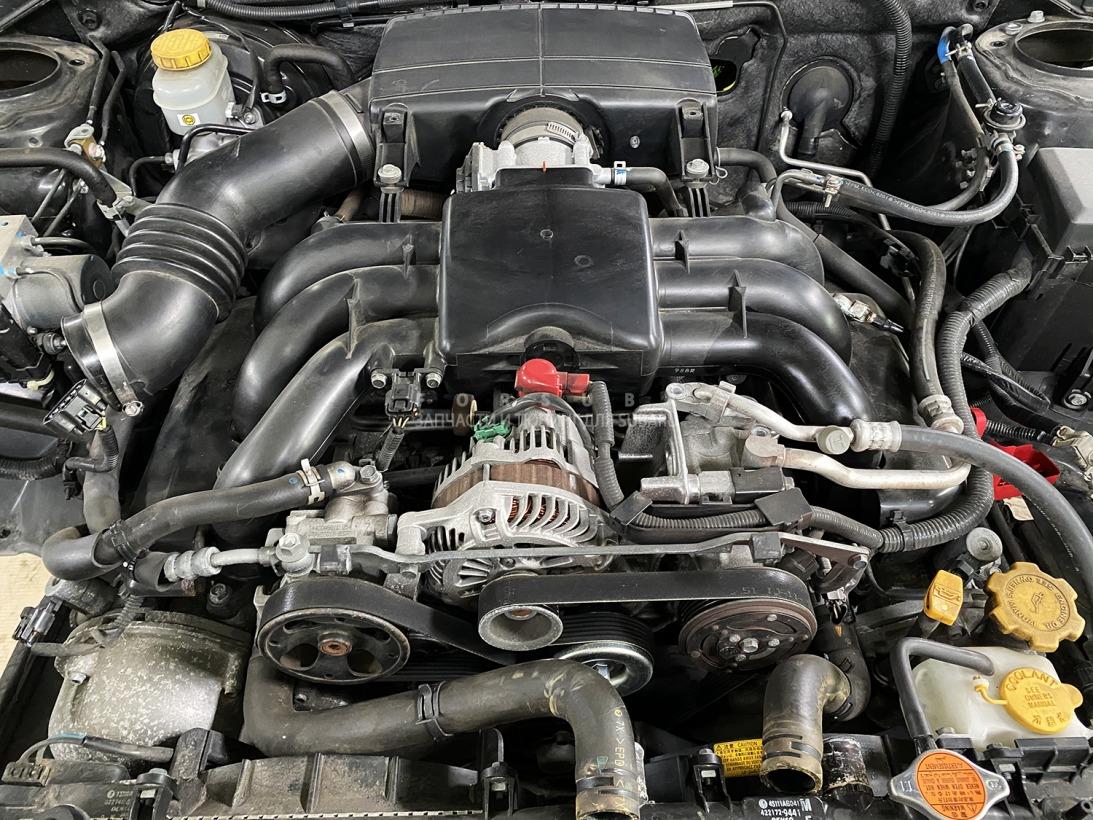 Двигатель Subaru Legacy BLE BPE EZ30DJCDGE 2008