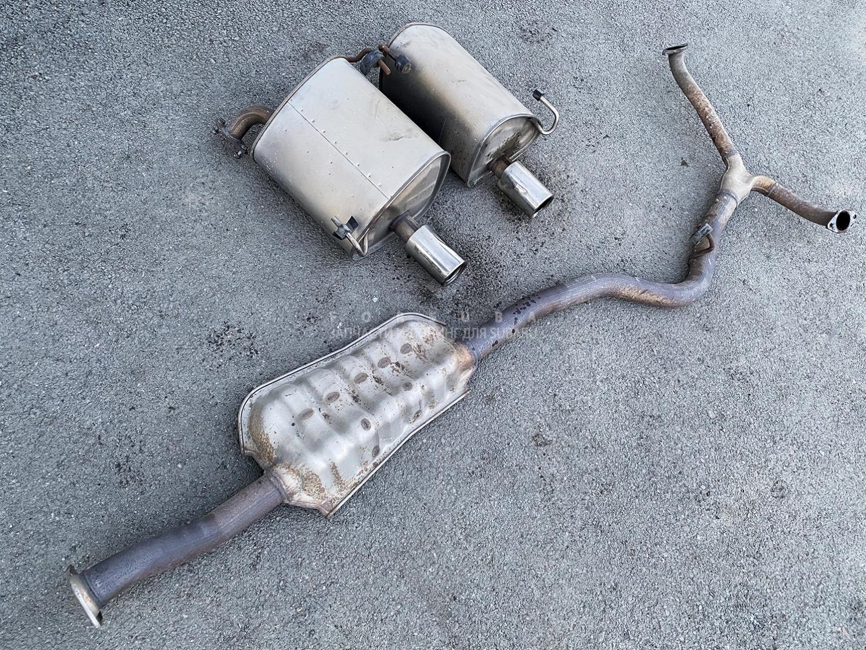 Глушитель Subaru Legacy Wagon BRG FA20ESZHDA 2012