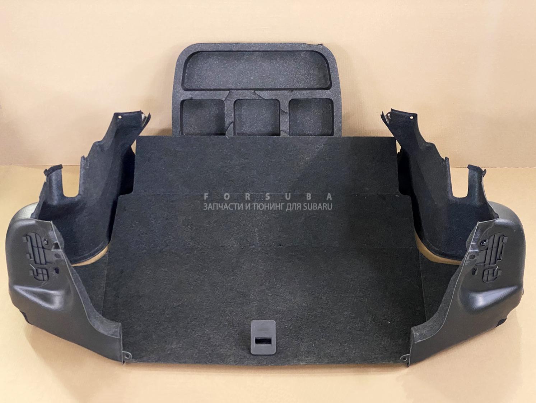 Обшивка багажника Subaru Legacy BL5 EJ20XDKCJE 2005