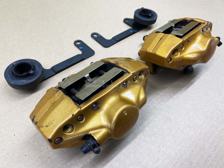 Тормоза brembo gold Subaru Impreza Wrx Sti GDB EJ207DW5CR 2003 задняя