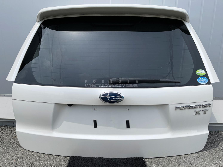 Дверь 5-я Subaru Forester SH5 EJ205HPZME 2008 задняя