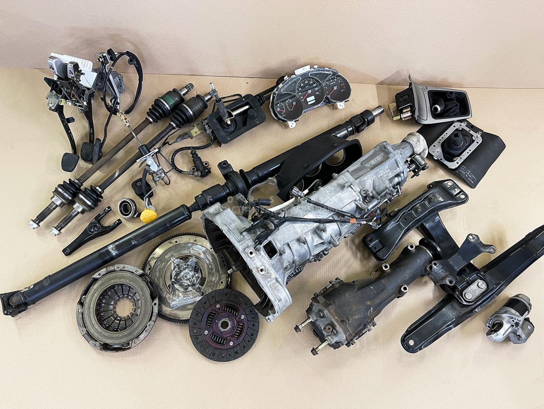 Мкпп Subaru Forester SG5 EJ205DEQKE 2006
