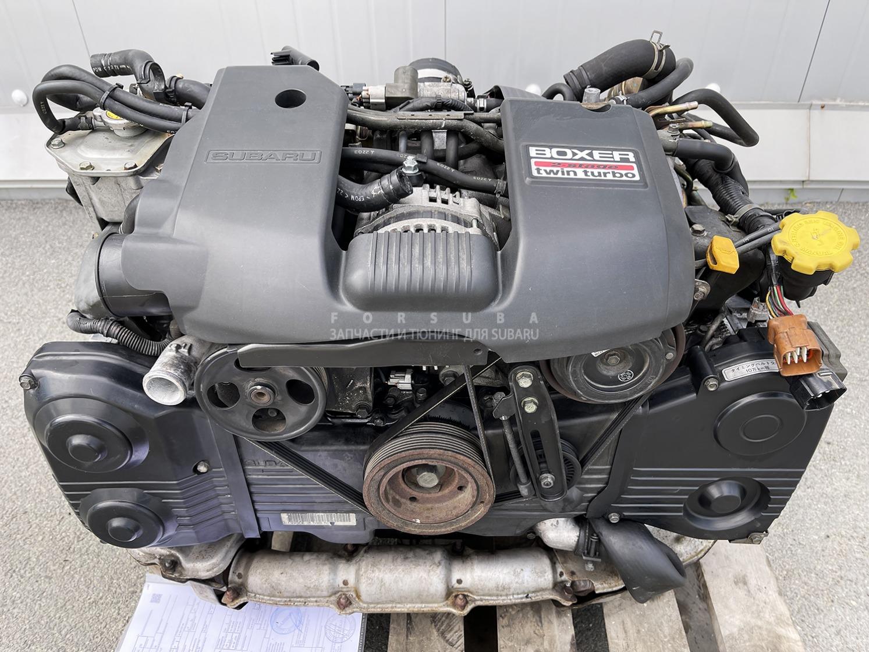 Двигатель Subaru Legacy B4 BE5 EJ206DXEBE 2003