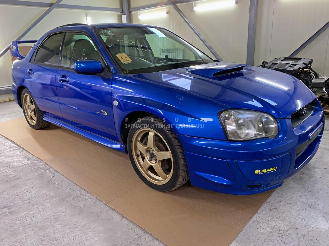 Автомобиль Subaru Impreza WRX GDA,GDB EJ205DW6BE 2004 года в разбор