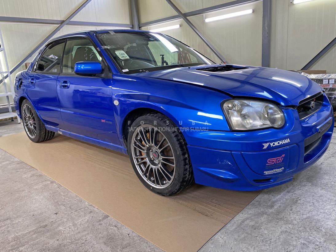 Автомобиль Subaru Impreza WRX STi GDB,GDA EJ207DW7CR 2004 года в разбор