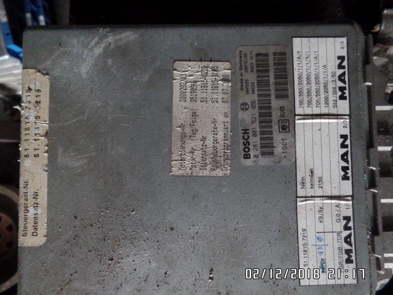 Блок управления двигателем Man F 2000