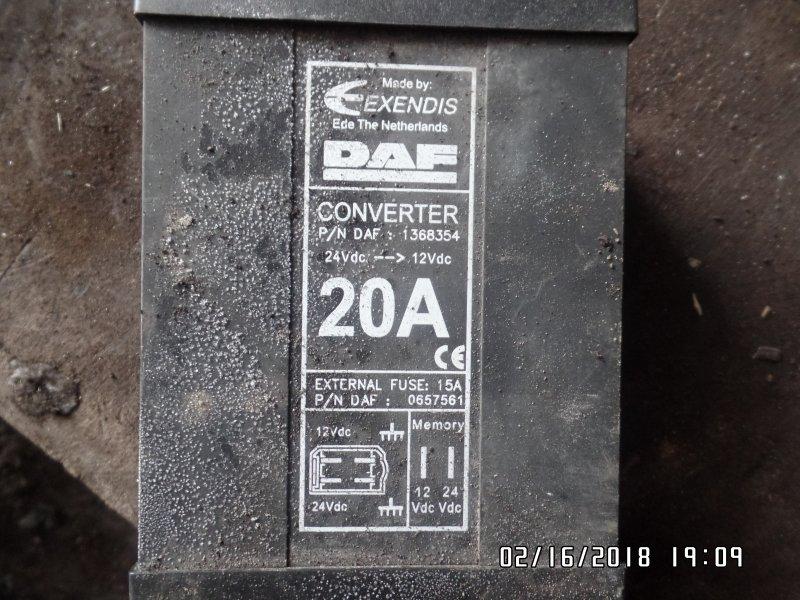 Преобразователь напряжения Daf Xf 95