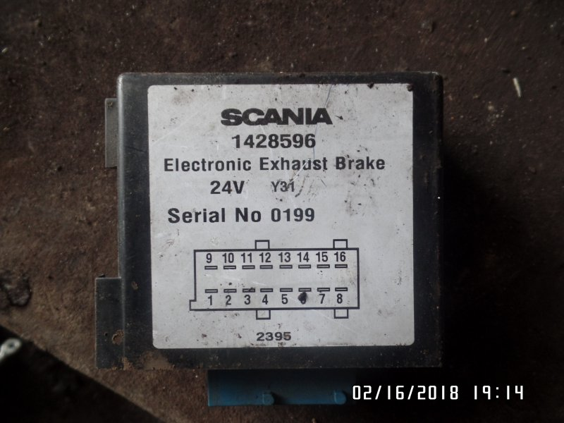 Блок управления тормозной системой Scania 4-Serie