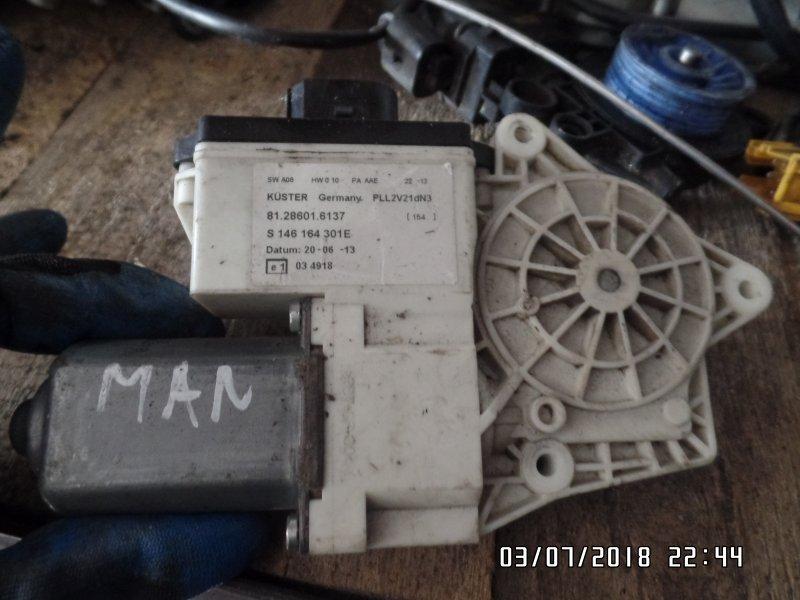Мотор стеклоподъемника Man Tga 2013 левый