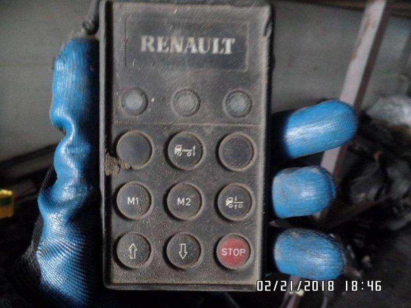 Пульт управления пневморессорами Renault Premium