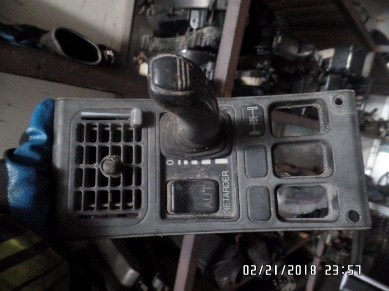Панель управления ретардой Scania 4-Serie