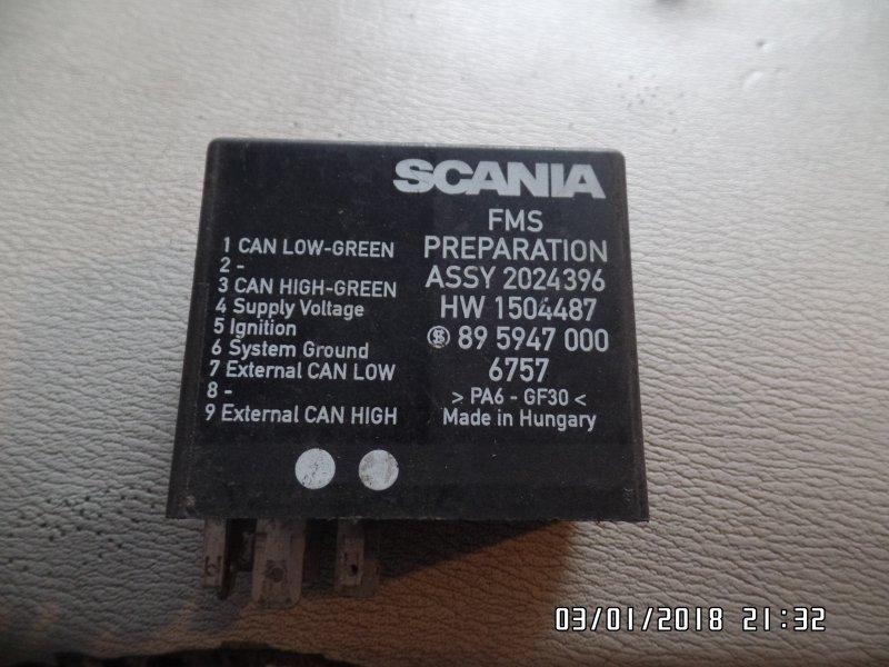 Блок реле Scania R-Serie