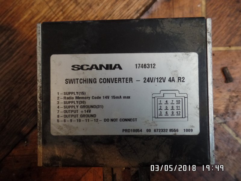 Преобразователь напряжения Scania 4-Serie