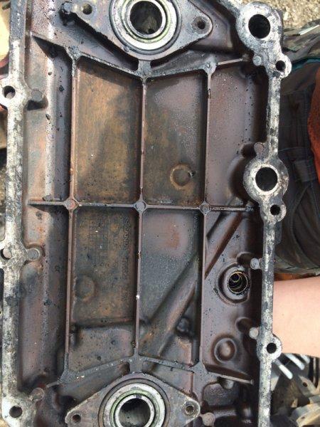 Крышка масляного радиатора Scania 4-Serie