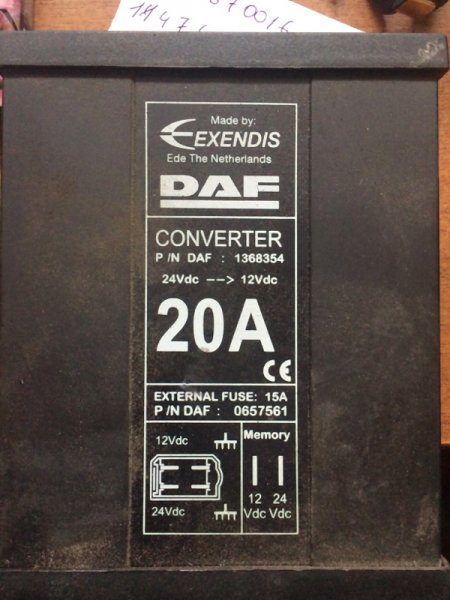 Преобразователь напряжения Daf Xf 95 2005