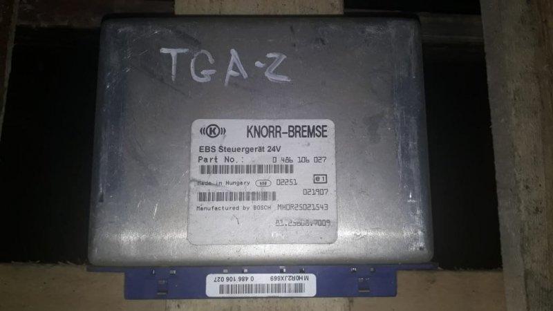 Блок управления ebs Man Tga 2002
