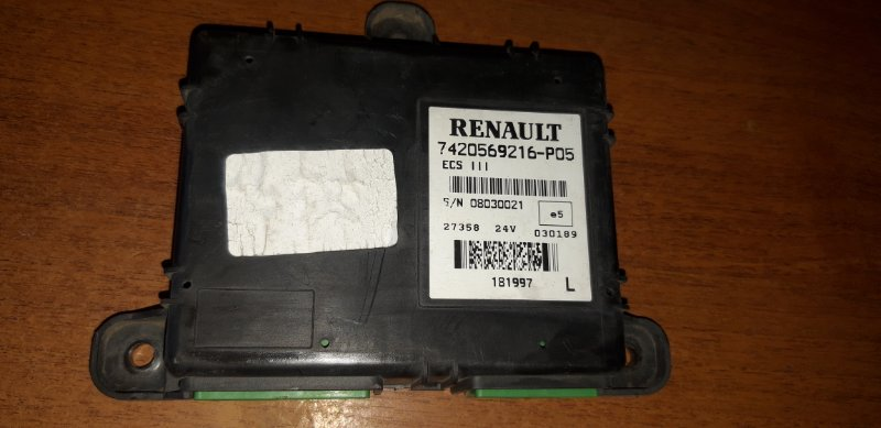 Блок управления подвеской Renault