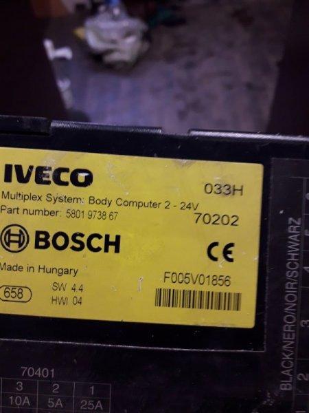 Блок управления двигателем Iveco