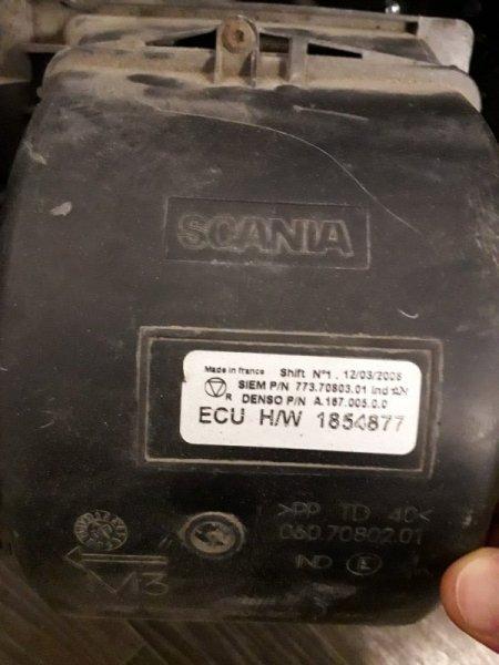 Моторчик печки Scania