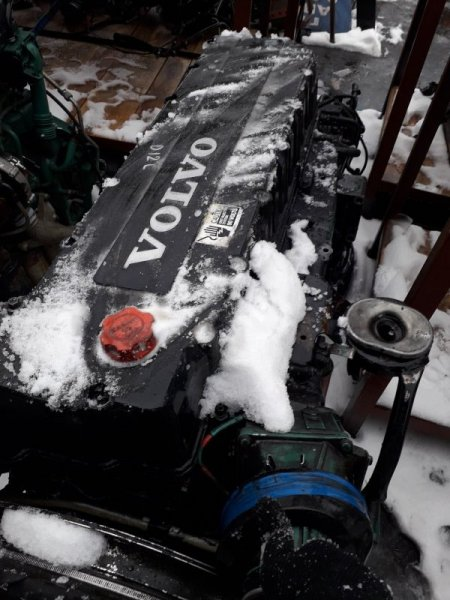 Двигатель Volvo Fm D12