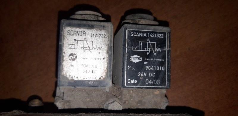 Клапан электромагнитный Scania
