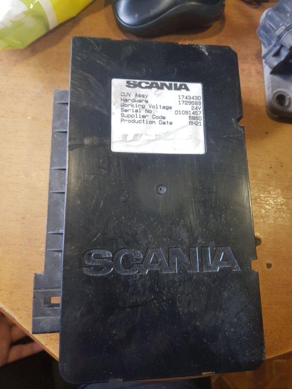 Блок электроный Scania