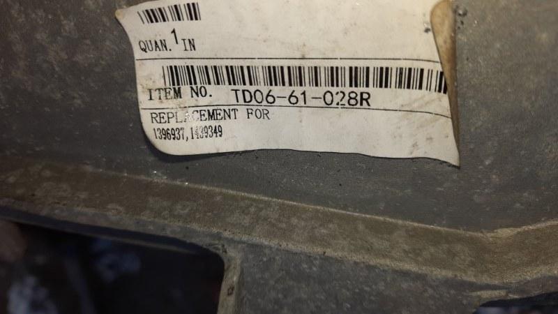 Кронштейн фар Daf Xf 95 правый