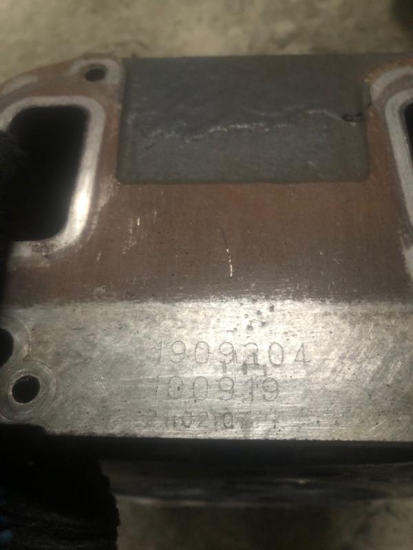 Головка блока цилиндров Scania 5-Seria