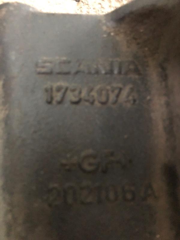 Кронштейн бампера Scania 4-Serie