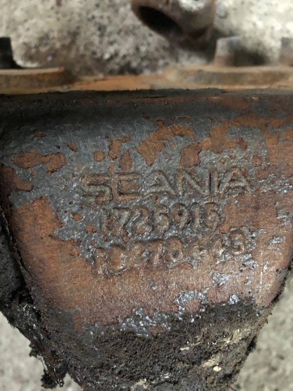 Кронштейн рессоры Scania