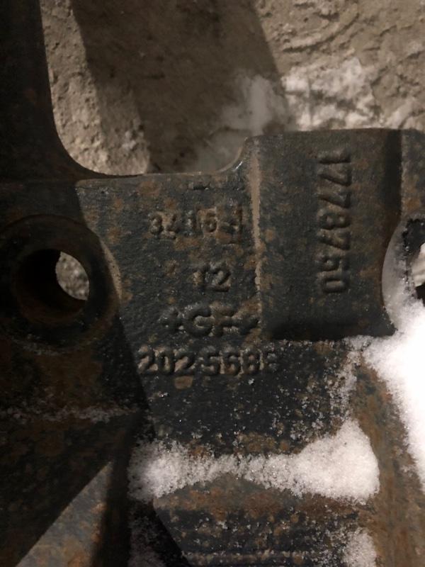Кронштейн пневморессоры Daf Xf105