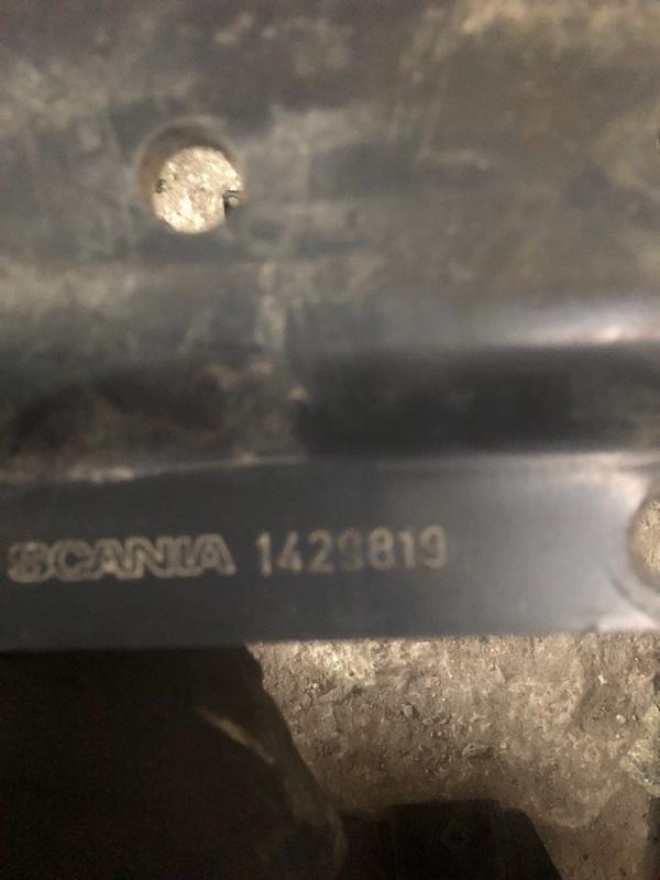 Проставка кронштейна топливного бака Scania