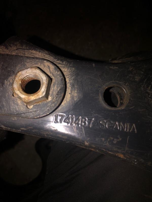 Кронштейн глушителя Scania