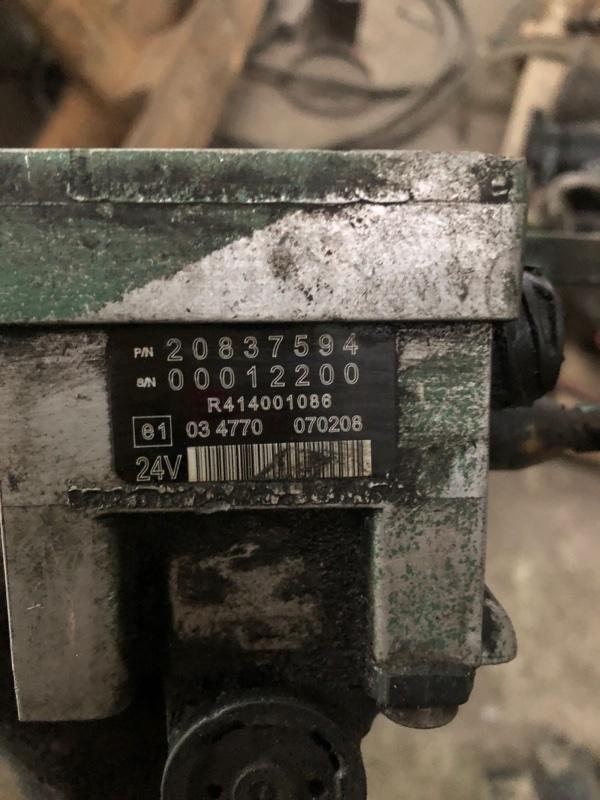 Клапан горного тормоза Volvo Fm