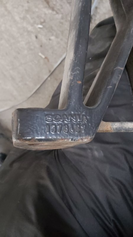 Кронштейн глушителя Scania задний