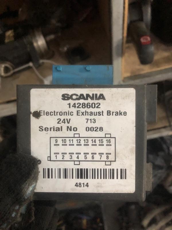 Блок управления моторным тормозом Scania