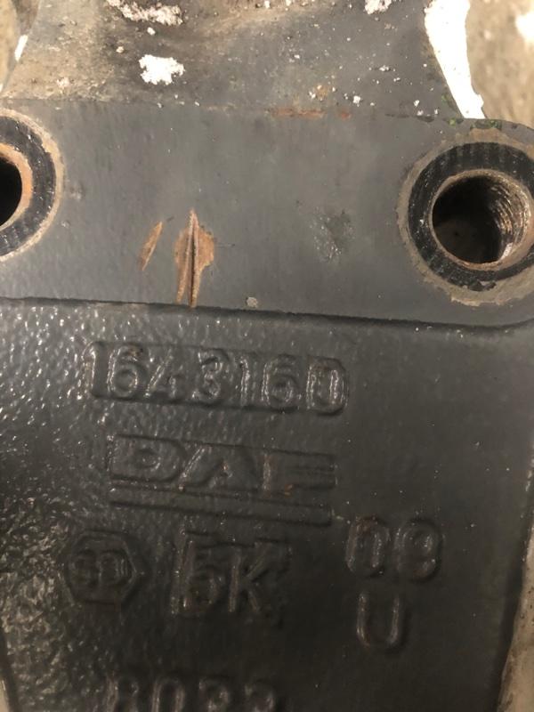 Кронштейн крепления рессоры Daf Xf105