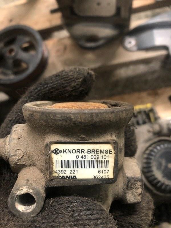 Регулятор давления Scania